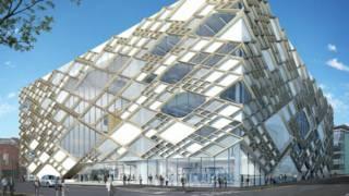 謝菲爾德大學工科新大樓電腦合成外觀