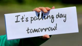 明天是投票日口號
