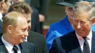 英国王储查尔斯王子和俄罗斯总统普京