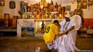 ब्राज़ील में फ़ुटबॉल और धर्म
