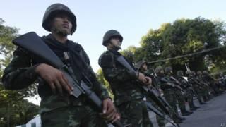 Военные в Таиланде
