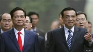 Thủ tướng VN Nguyễn Tấn Dũng và Thủ tướng TQ Lý Khắc Cường