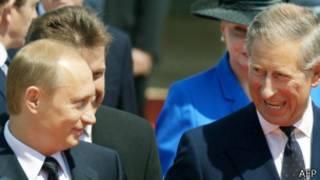 Путин и принц Чарльз