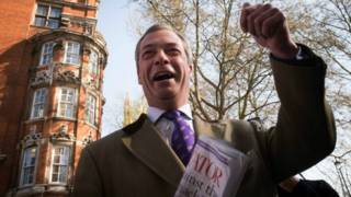英國獨立黨領袖法拉吉