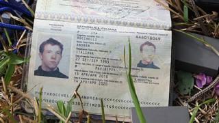 Паспорт Андреа Рокелли