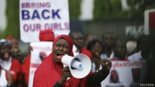 تظاهرات منتقدان دولت در ابوجا