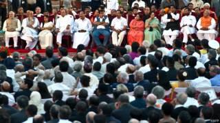 नरेंद्र मोदी, प्रधानमंत्री, भारत, मंत्रीमंडल, राजनाथ सिंह, सुषमा स्वराज, अरुण जेटली