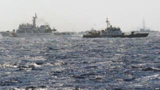 مواجهة بين سفن صينية وفيتنامية في بحر الصين الجنوبي