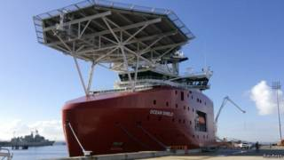Австралийский поисковый корабль