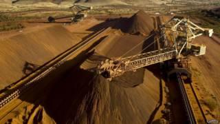 Explotación minera de Rio Tinto en Australia