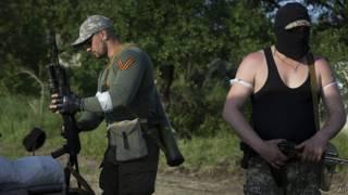 جدائیطلبان طرفدار روسیه در شرق اوکراین