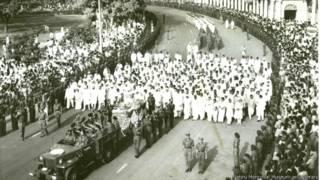 दिल्ली में नेहरू की अंतिम यात्रा