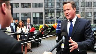 ديفيد كاميرون رئيس وزراء بريطانيا
