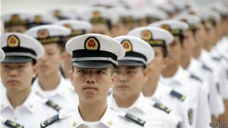 中國海軍(資料照片)