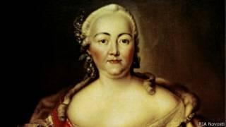 Императрица Елизавета Петровна (портрет кисти неизвестного художника, Государственный Эрмитаж)