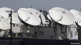 آنتن های ماهواره ای