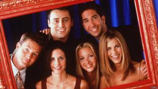 O elenco de Friends, em foto de 1998 (Getty)