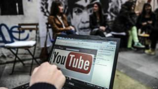 Сайт YouTube в Турции