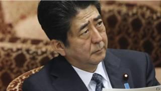 رئيس الوزراء الياباني، شينزو أبي