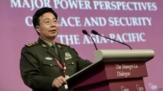中國解放軍副總參謀長王冠中(1/6/2014)