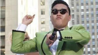 दक्षिण कोरिया के रैपर साई, गंगनम स्टाइल वीडियो में