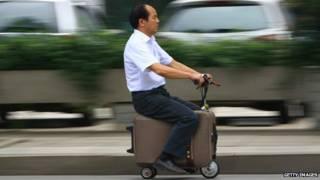 चीन सूटकेस स्कूटर