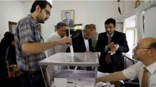 Голосование в Сирии
