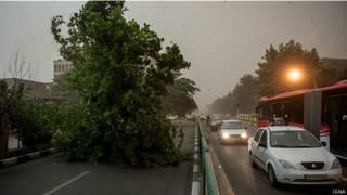 توفان در تهران