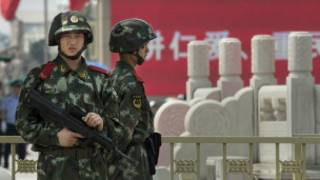 Umutekano wakajijwe mu rubuga rwa Tiananmen