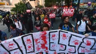 protesto Copa | AFP