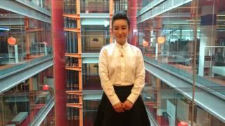 秦海璐到訪BBC總部