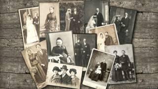 Старые семейные фотографии