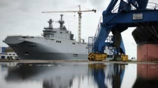 """Военный корабль класса """"Мистраль"""""""