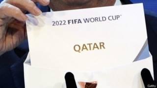 Sepp Blatter revela la selección de Qatar para el Mundial 2022