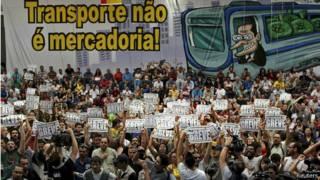 Mogok kerja di Brasil