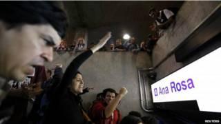 Protestas Sao Paulo