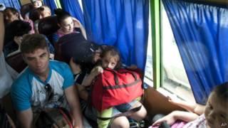 Беженцы из Донбасса