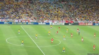 ब्राज़ील का फ़ुटबॉल स्टेडियम