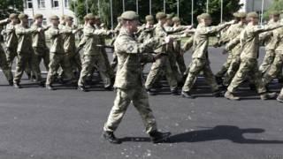 Британские войска на учениях Saber Strike