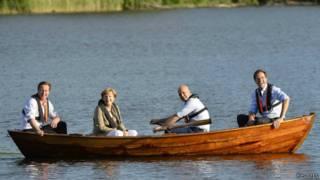 رهبران چهار کشور اروپایی در سوئد