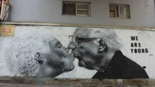 Граффити на улице Сеула