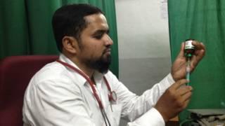 हैदराबाद की मक्का मस्जिद धमाके के सिलसिले में फर्जी मुकदमे में गिरफ्तार  इब्राहिम अली जुनैद