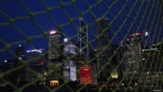 香港金融区(10/06/2014)