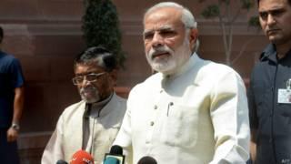 भारत के प्रधान मंत्री नरेंद्र मोदी