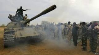 قتال في السودان