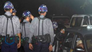 Santisuka Monastery was stormed by police at midnight on 10 June