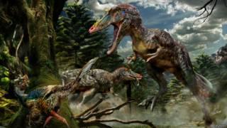 Динозавры были энергичными животными