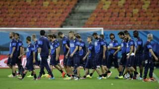 Treino seleção italiana (AP)