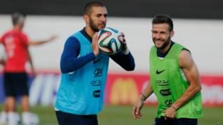 jogadores franceses | AP