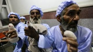 अफ़ग़ानिस्तान में उंगलियां काटी